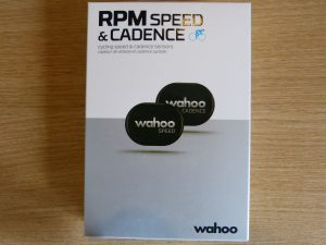 wahoo speed and cadence sensor box front